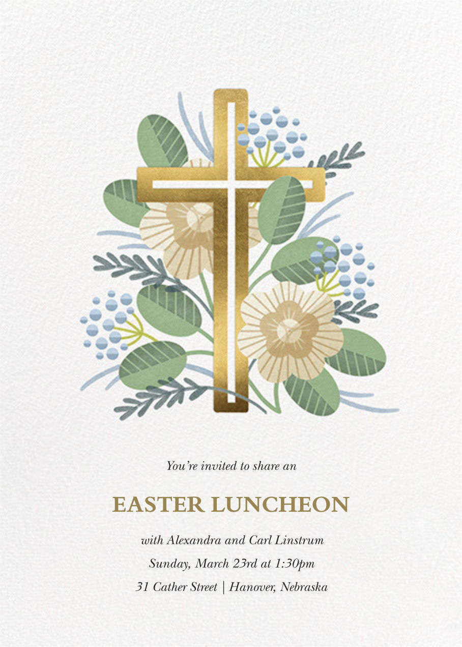 Palm Sunday - Paperless Post - Easter