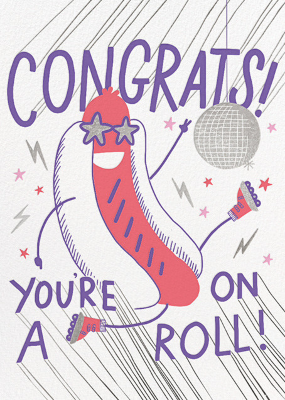 On A Roll - Hello!Lucky - Congratulations