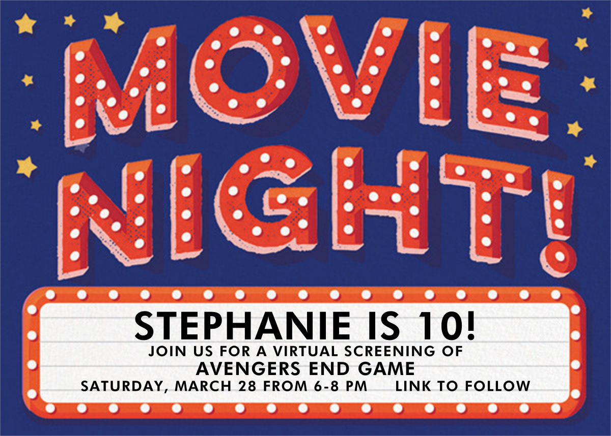 Movie Night - Hello!Lucky - Viewing party