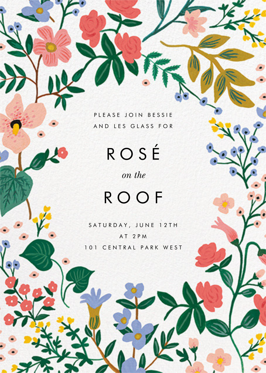 Wildwood (Invitation) - Rifle Paper Co. - General entertaining