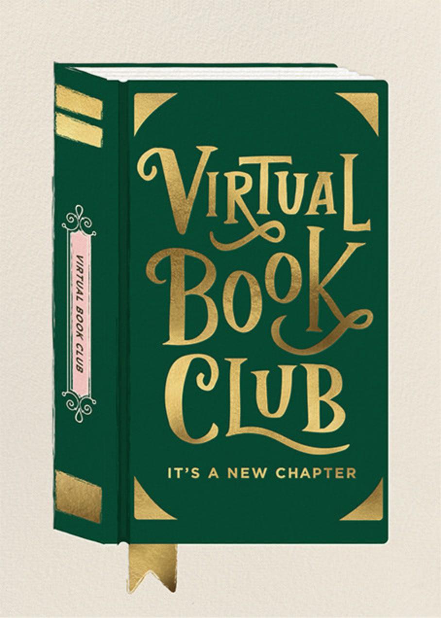 Virtual Book Club - Cheree Berry - Book club