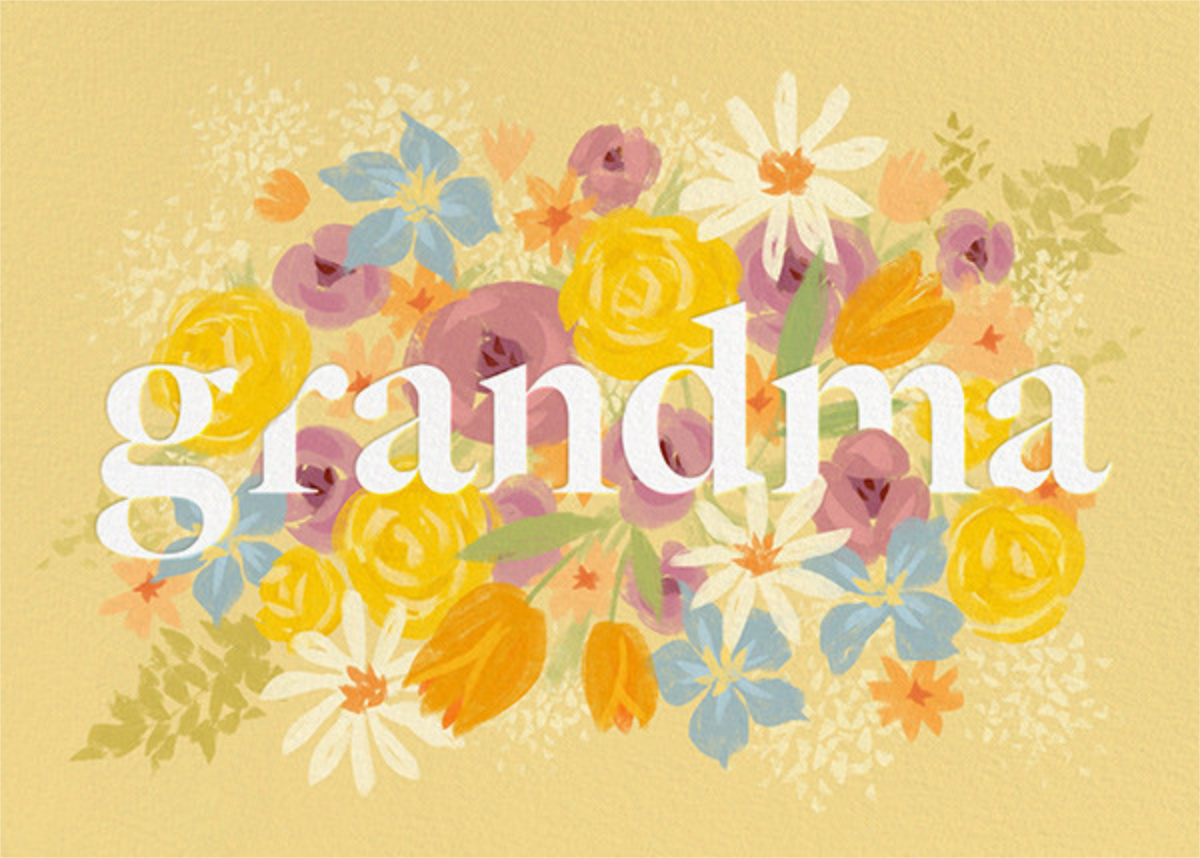 Grandma in Bloom - Paperless Post - Mother's Day