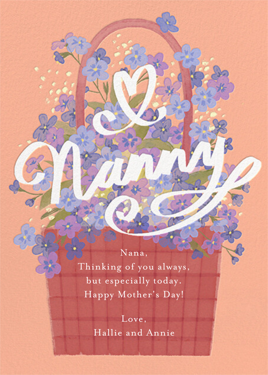 Flowers for Grandma - Paperless Post - Mother's Day