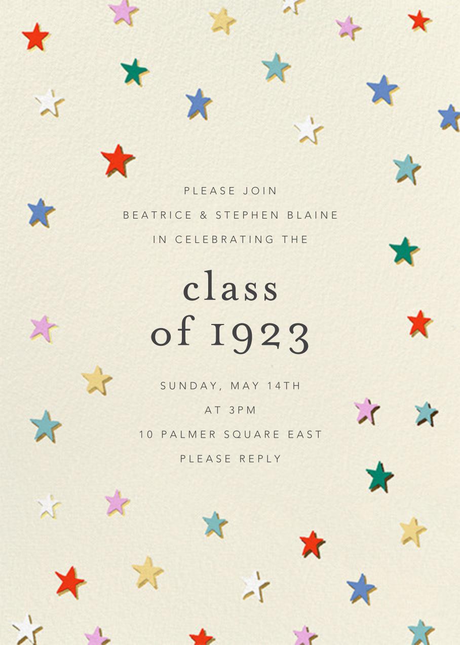 Falling Stars - Cream - Ashley G - Graduation party