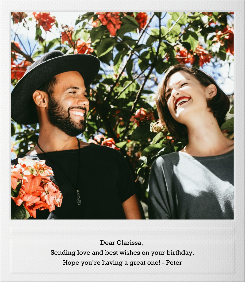 Snapshot - Single Sided - Paperless Post - Birthday