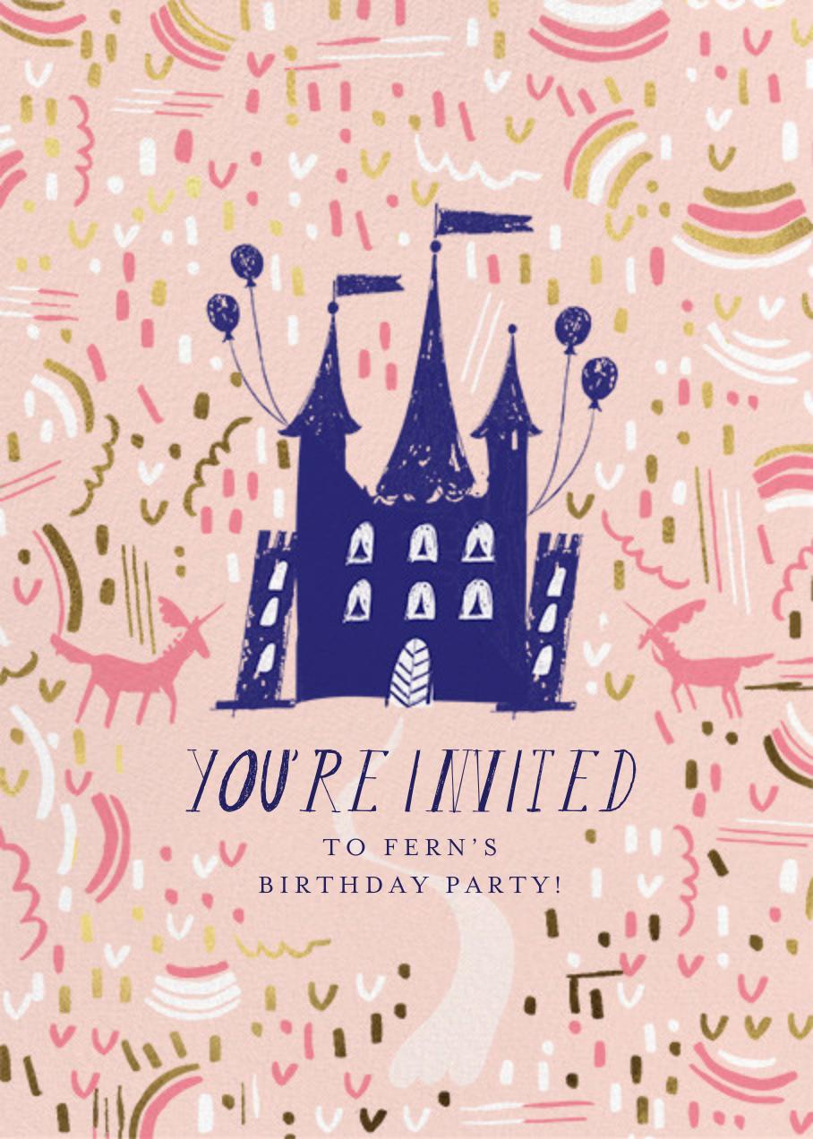 Castle Confetti - Mr. Boddington's Studio - Kids' birthday