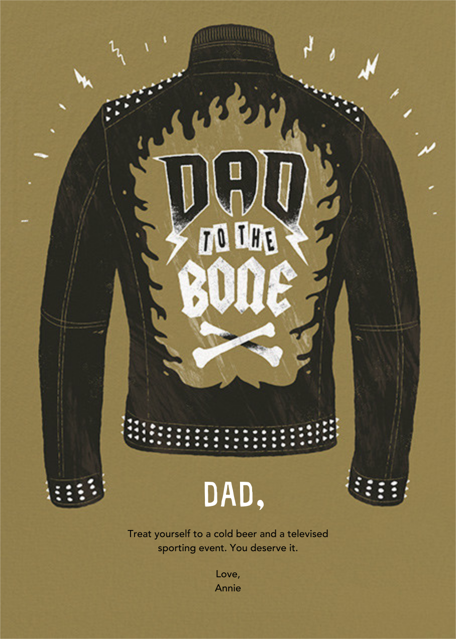 Dad Behavior - Paperless Post - Father's Day