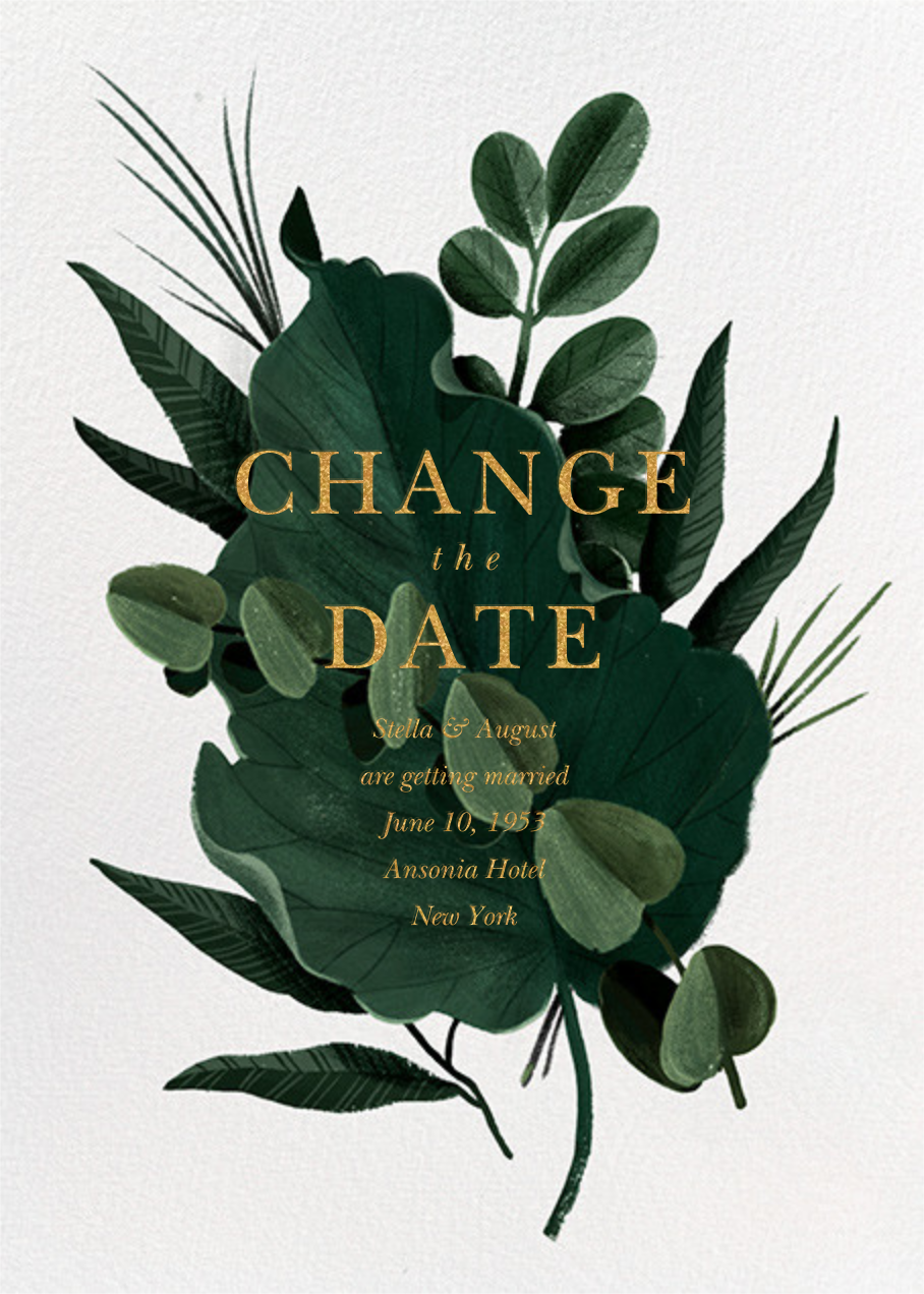 Herrgarde - New Date - Paperless Post - Save the date