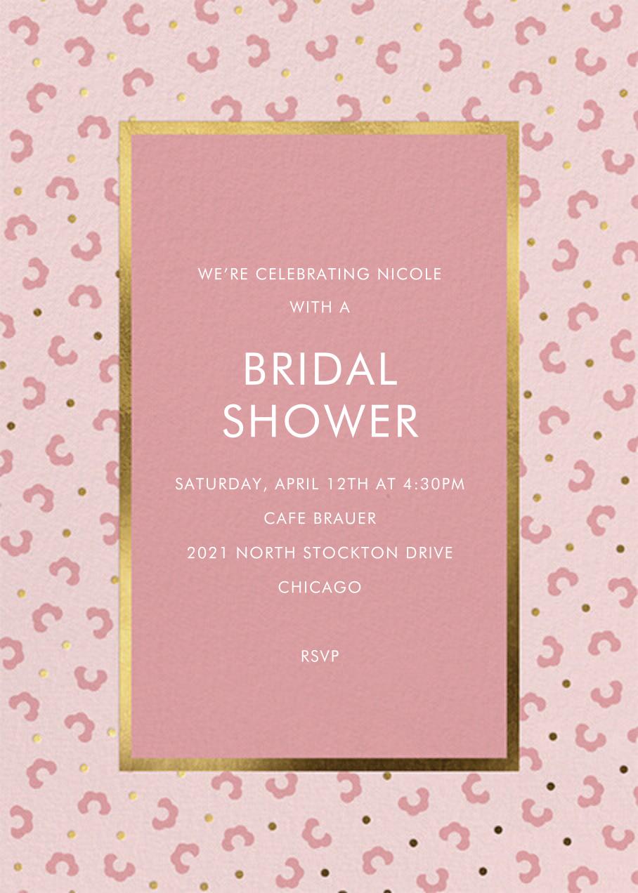 That Petals It - Blossom - kate spade new york - Bridal shower