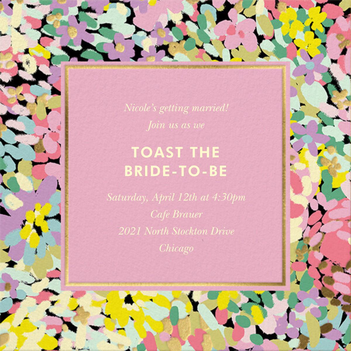 Painted Posies - Mauve - kate spade new york - Bridal shower