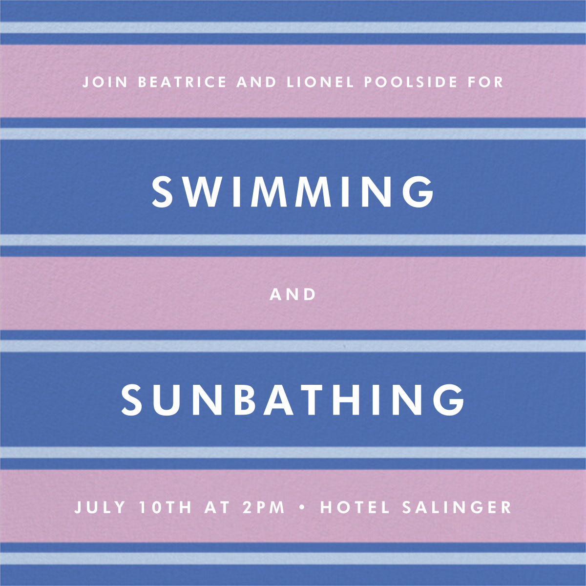 Montauk - Antwerp - kate spade new york - Pool party
