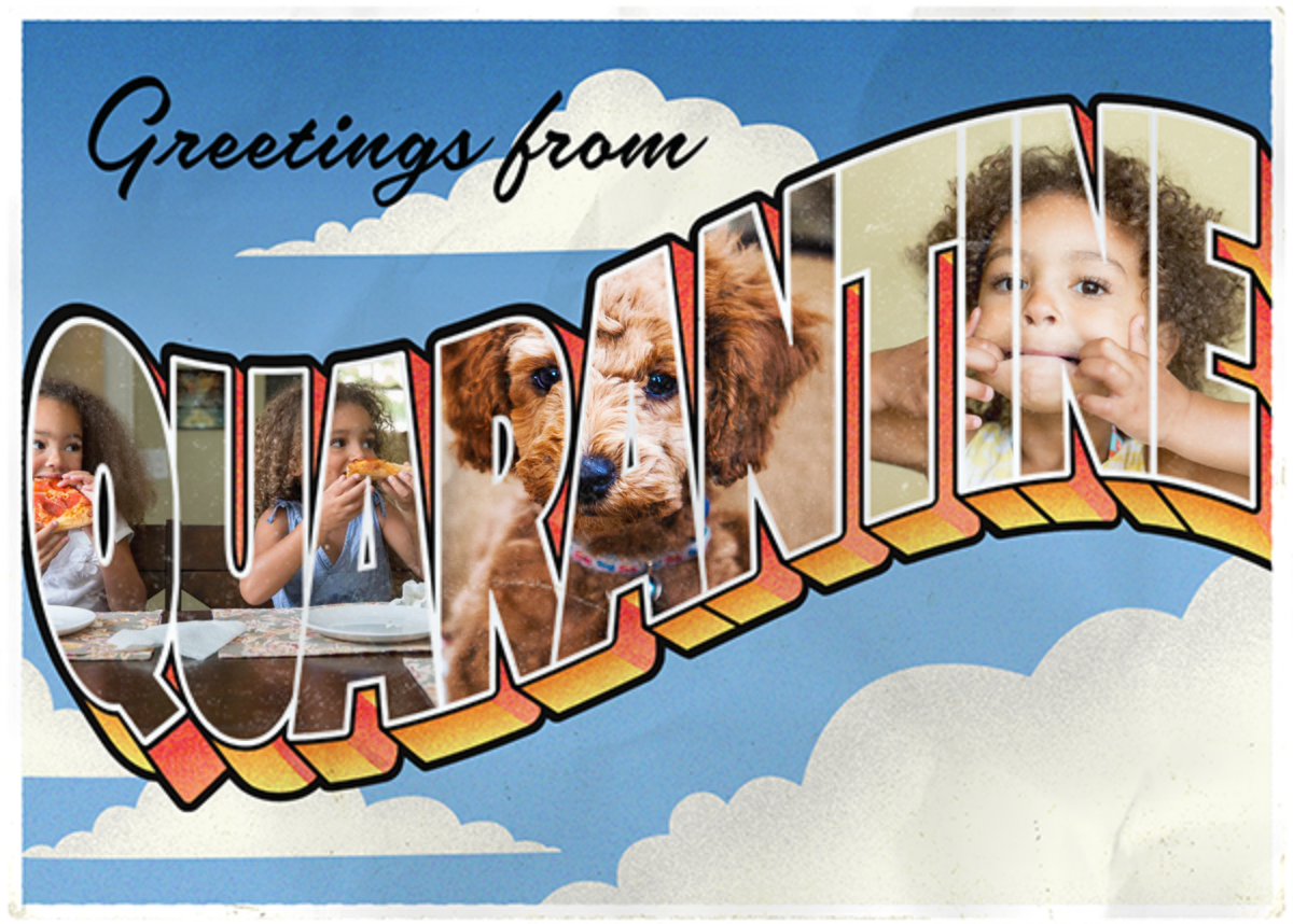 Quarantine Postcard - Paperless Post - Just because