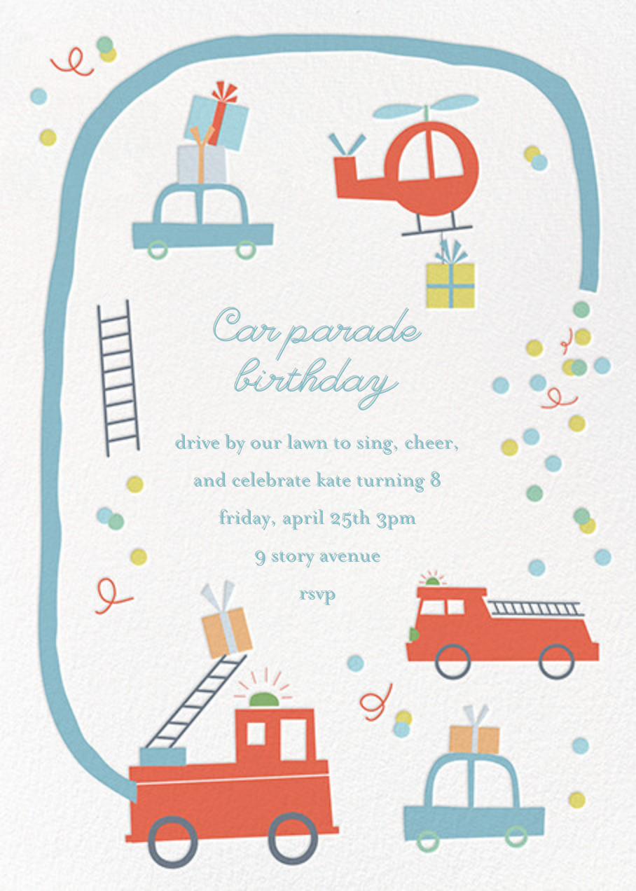 Five-Alarm Party - Little Cube - Kids' birthday