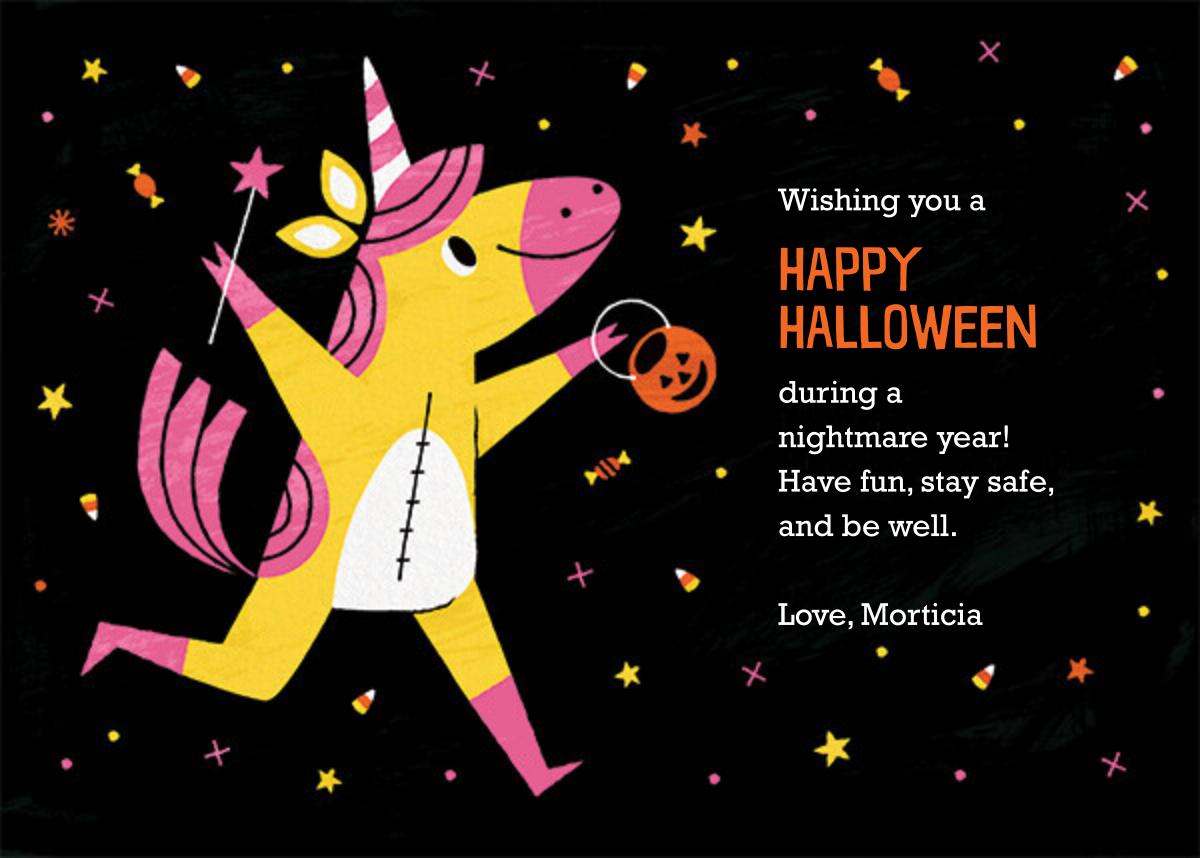 Candy Corn Magic - Paperless Post - Halloween