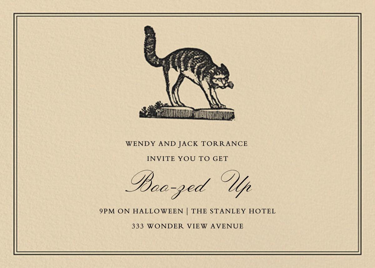 Witch's Cat - Horizontal - John Derian - Halloween