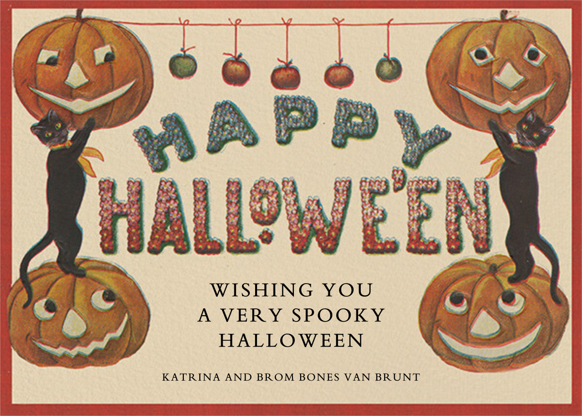 Candy Apples - John Derian - Halloween