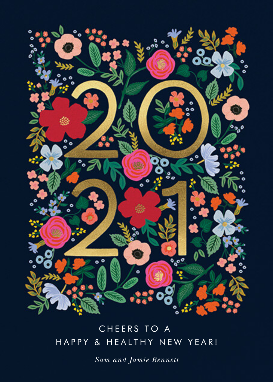 Wild Rose New Year - Rifle Paper Co. - New Year