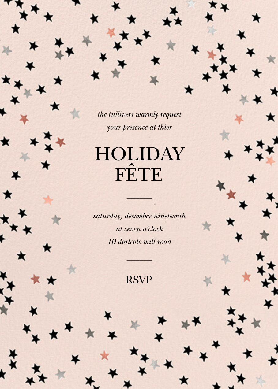 Sky Glitter - Meringue - kate spade new york - Holiday party