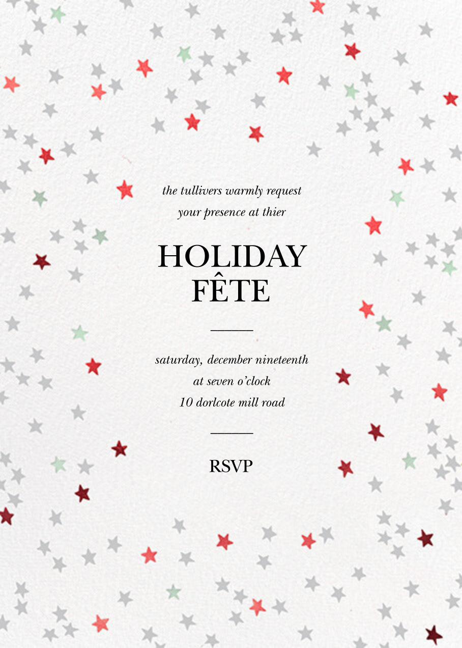 Sky Glitter - White - kate spade new york - Christmas party