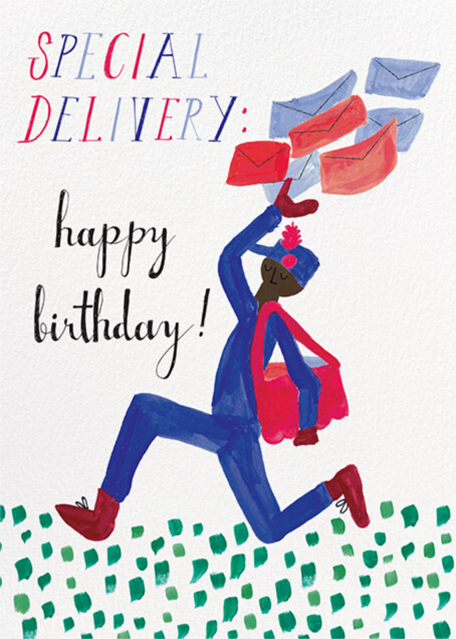 Special Delivery - Deep - Mr. Boddington's Studio - Birthday