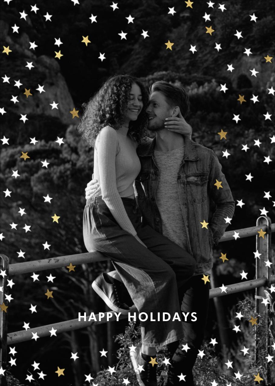 Sky Glitter Photo - kate spade new york - Holiday cards