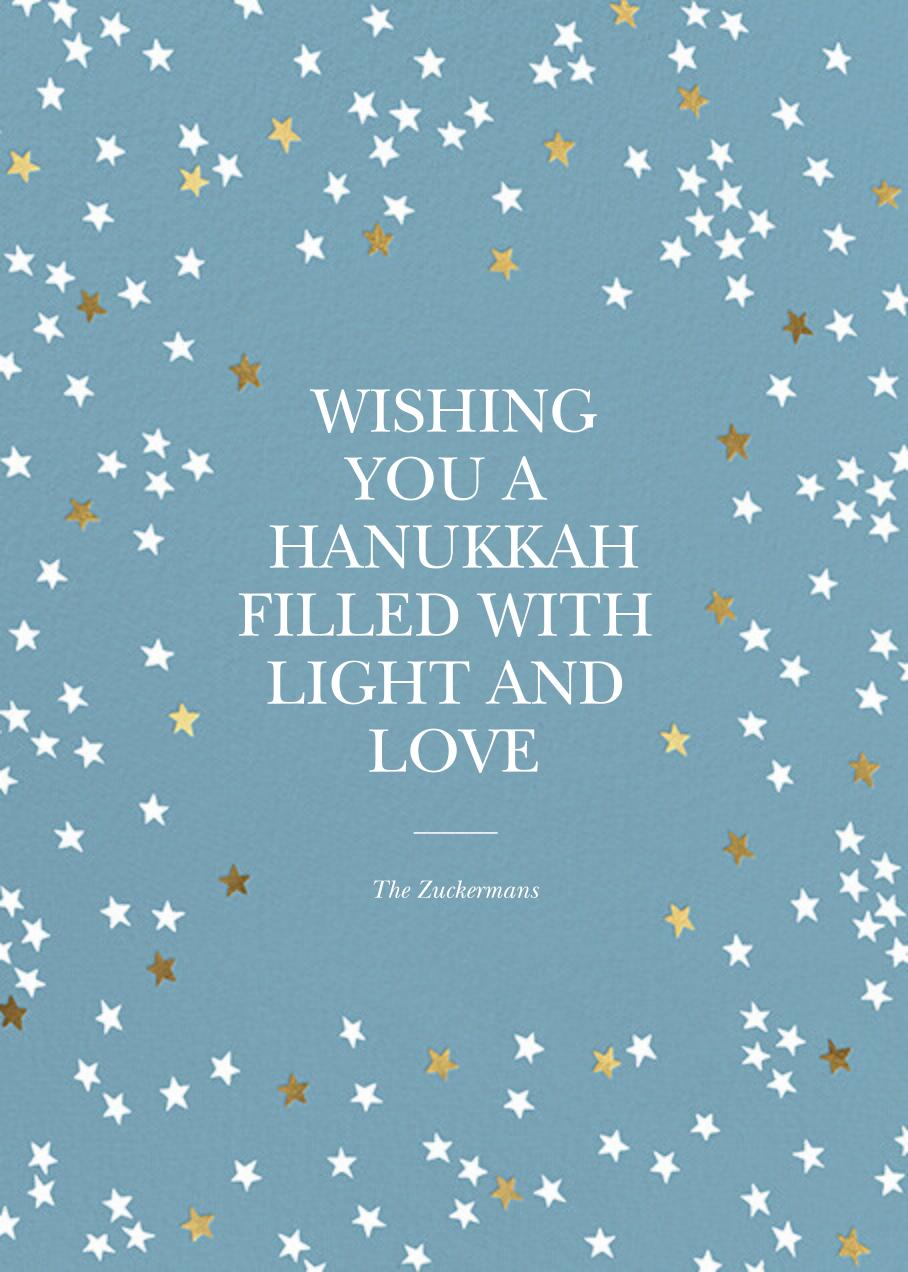 Sky Glitter - Spring Rain - kate spade new york - Hanukkah