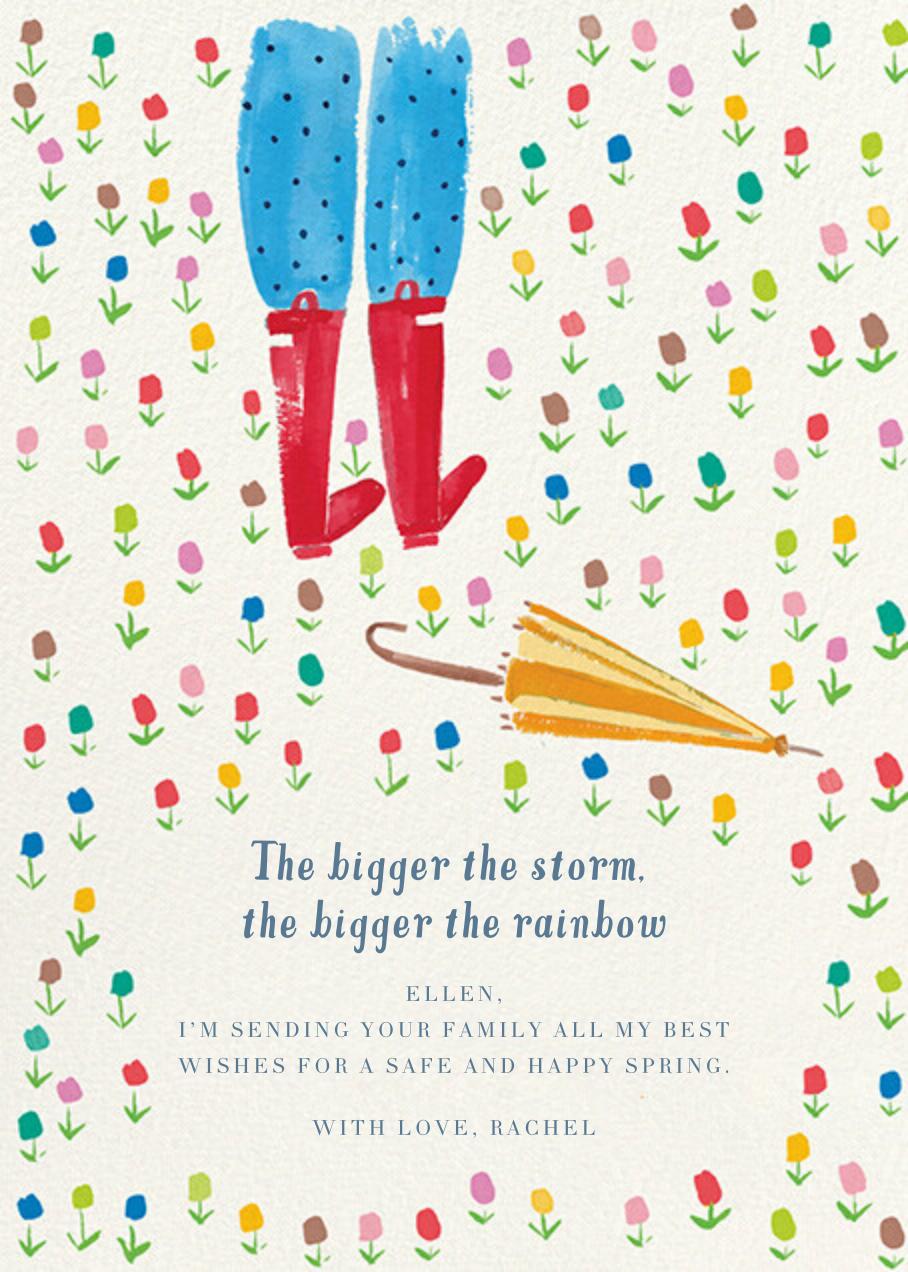Rainbow Garden - Mr. Boddington's Studio - Thinking of you