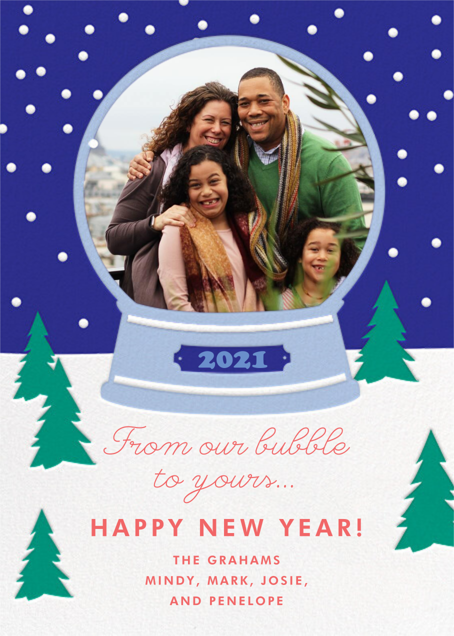 Snow Bubble - Cheree Berry - New Year