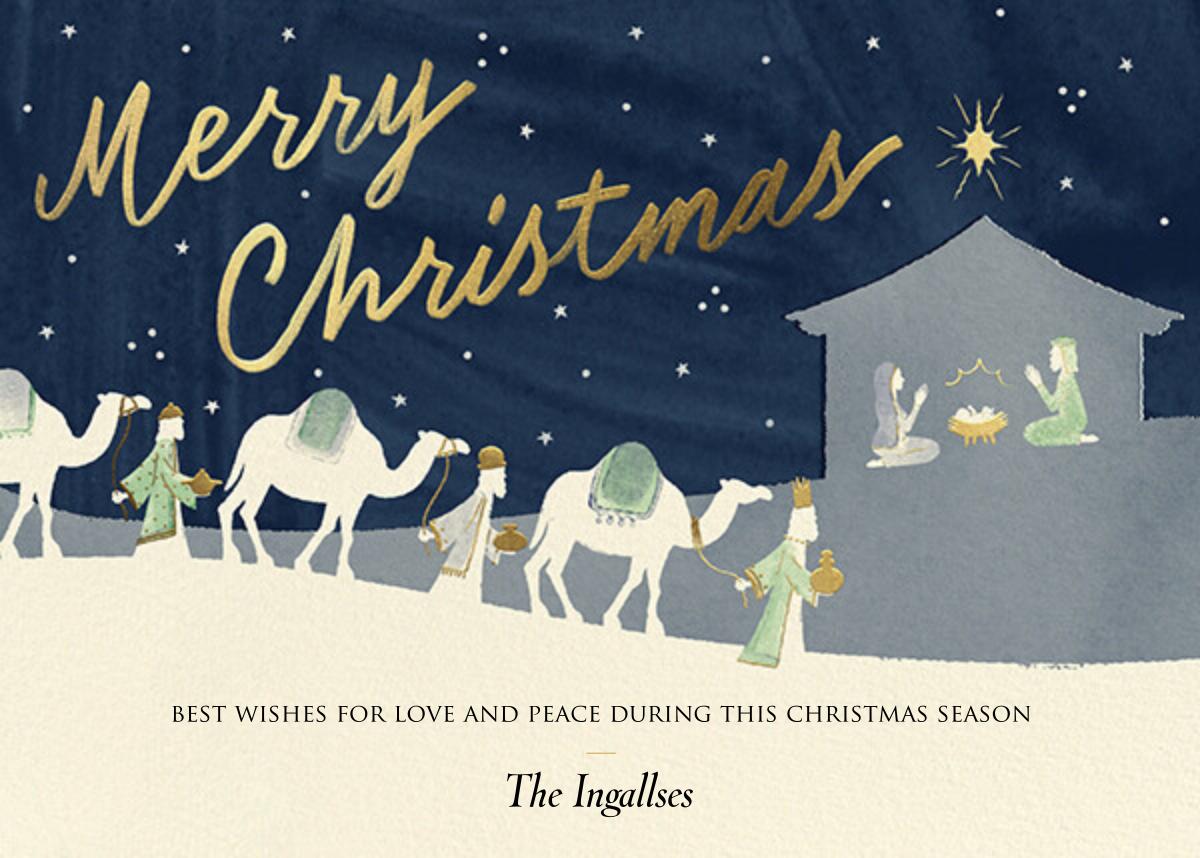 Three Kings - Paperless Post - Christmas