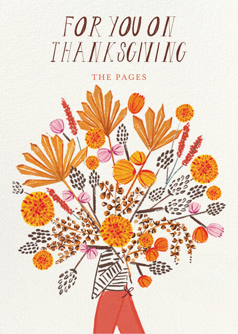 Thanksgiving Bouquet - Mr. Boddington's Studio - Thanksgiving