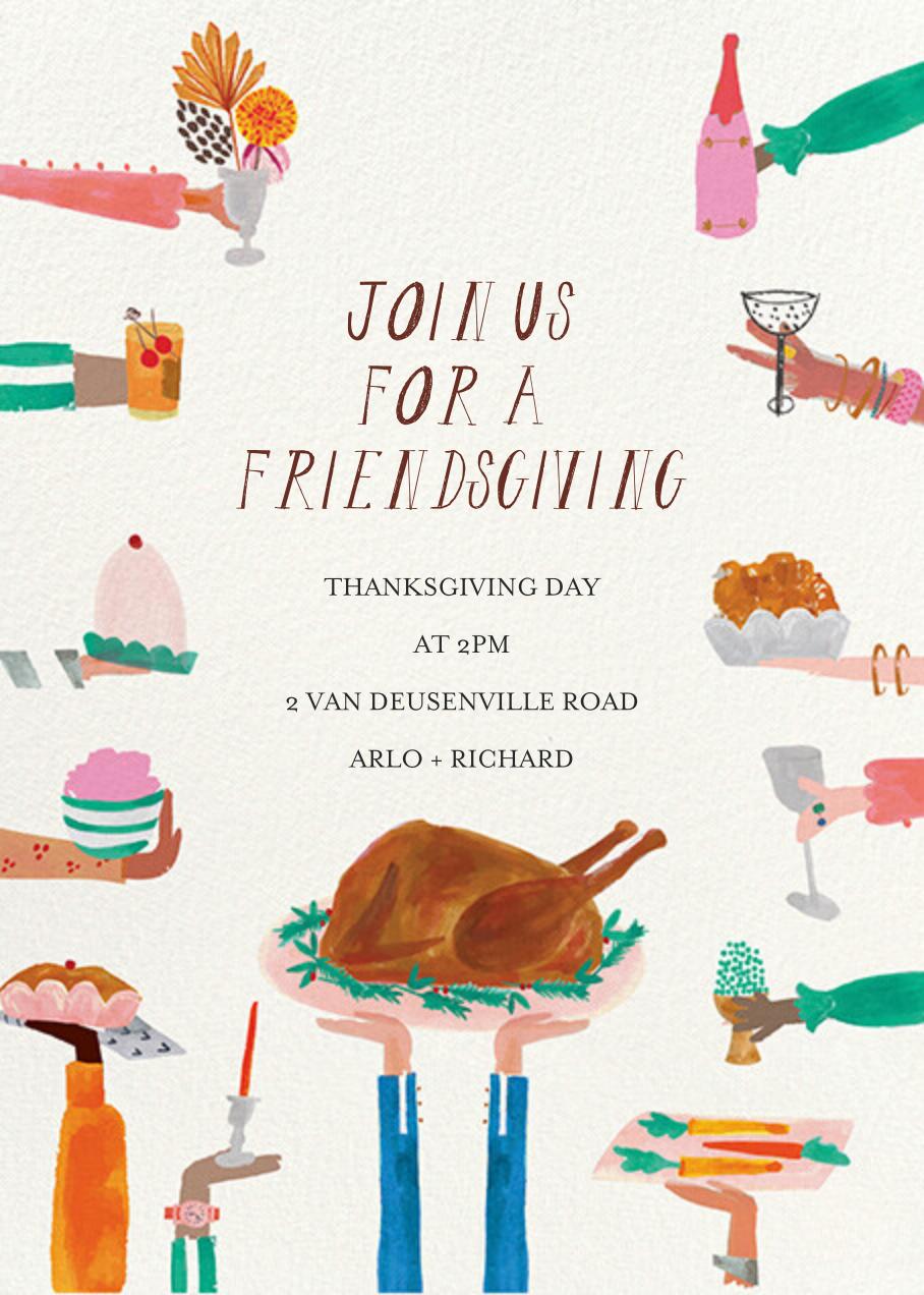 Hands Full - Mr. Boddington's Studio - Thanksgiving