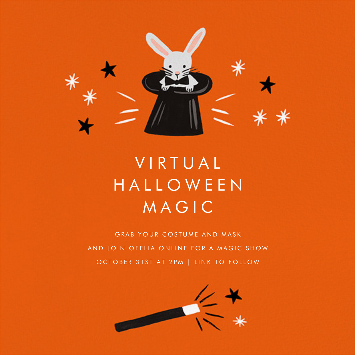 Rabbit Reveal - Rifle Paper Co. - Halloween