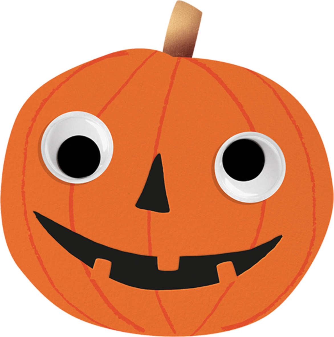 Goofy Pumpkin - Meri Meri - Halloween
