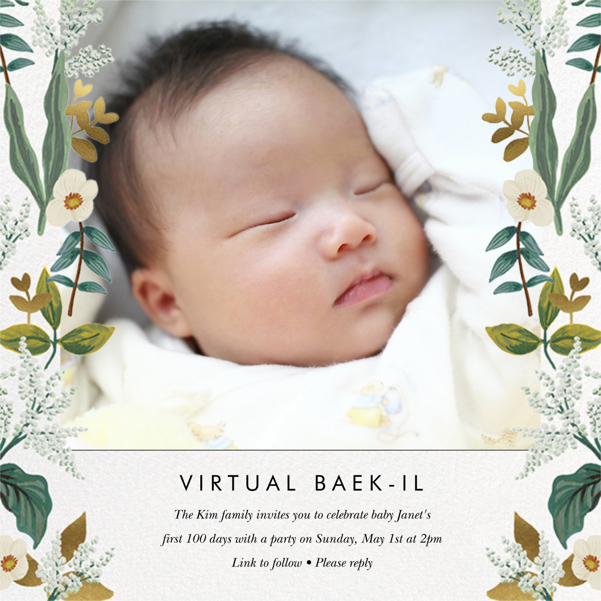 Meadow Garland Photo - Rifle Paper Co. - Virtual parties