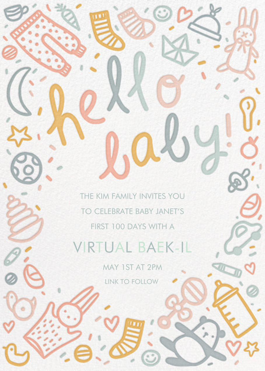 Baby Doodle - Hello!Lucky - Virtual parties