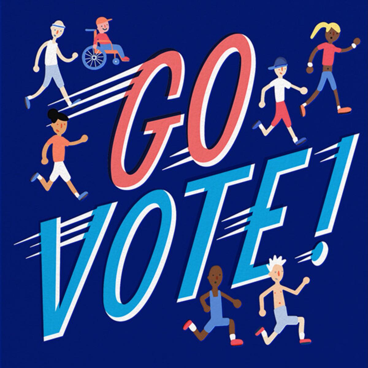 Go Vote - Hello!Lucky - Political action
