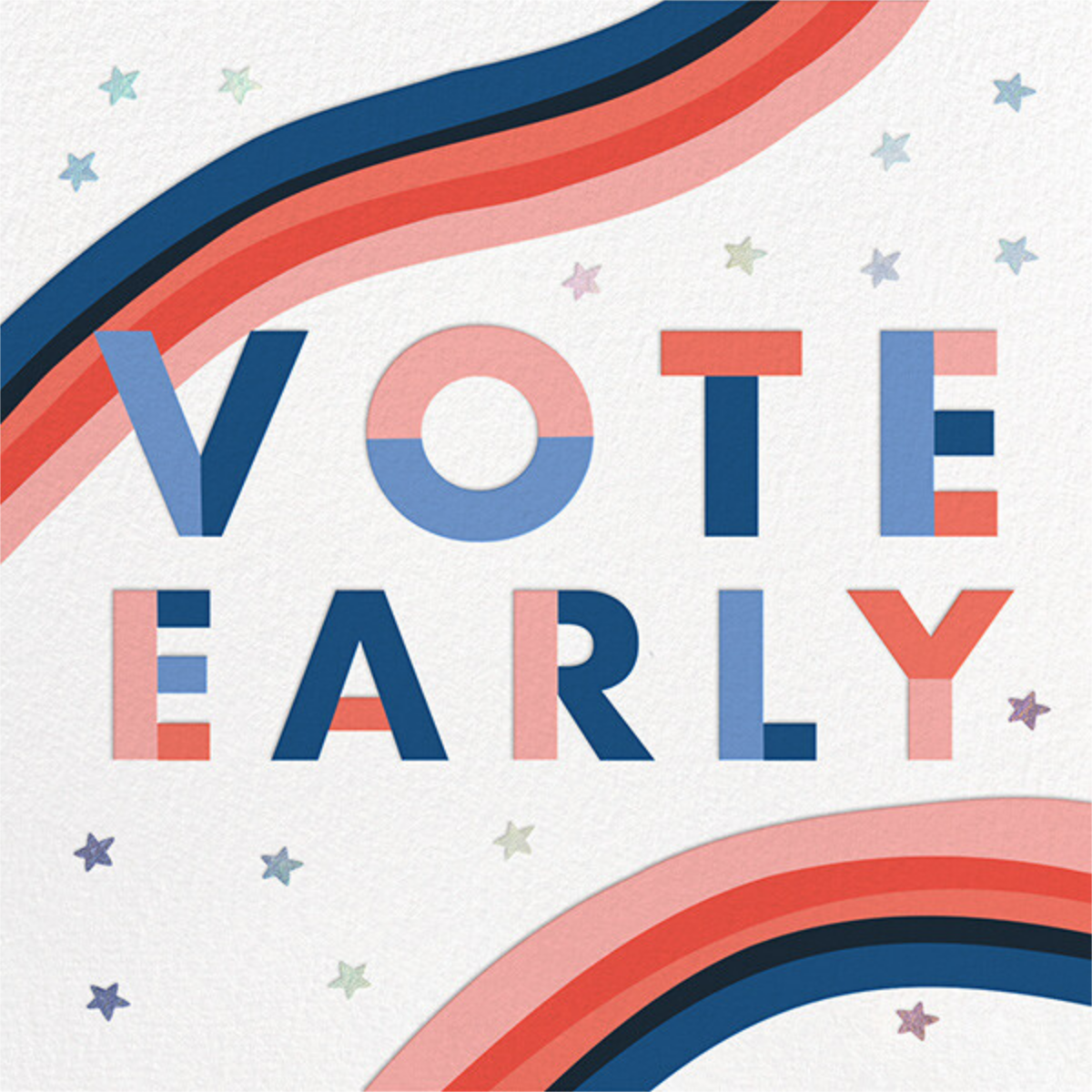 Vote Early - Hello!Lucky - Political action