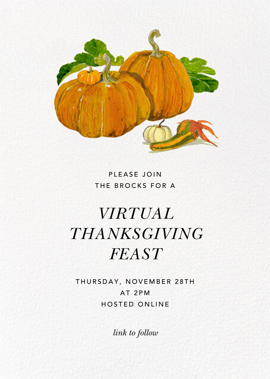 Squash Family - Felix Doolittle - Thanksgiving