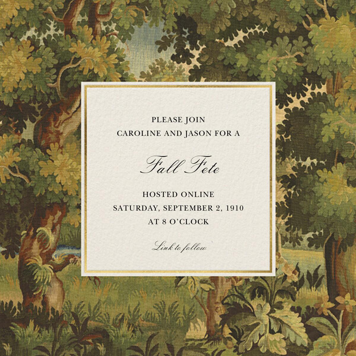 Woodland - Oscar de la Renta - Fall parties