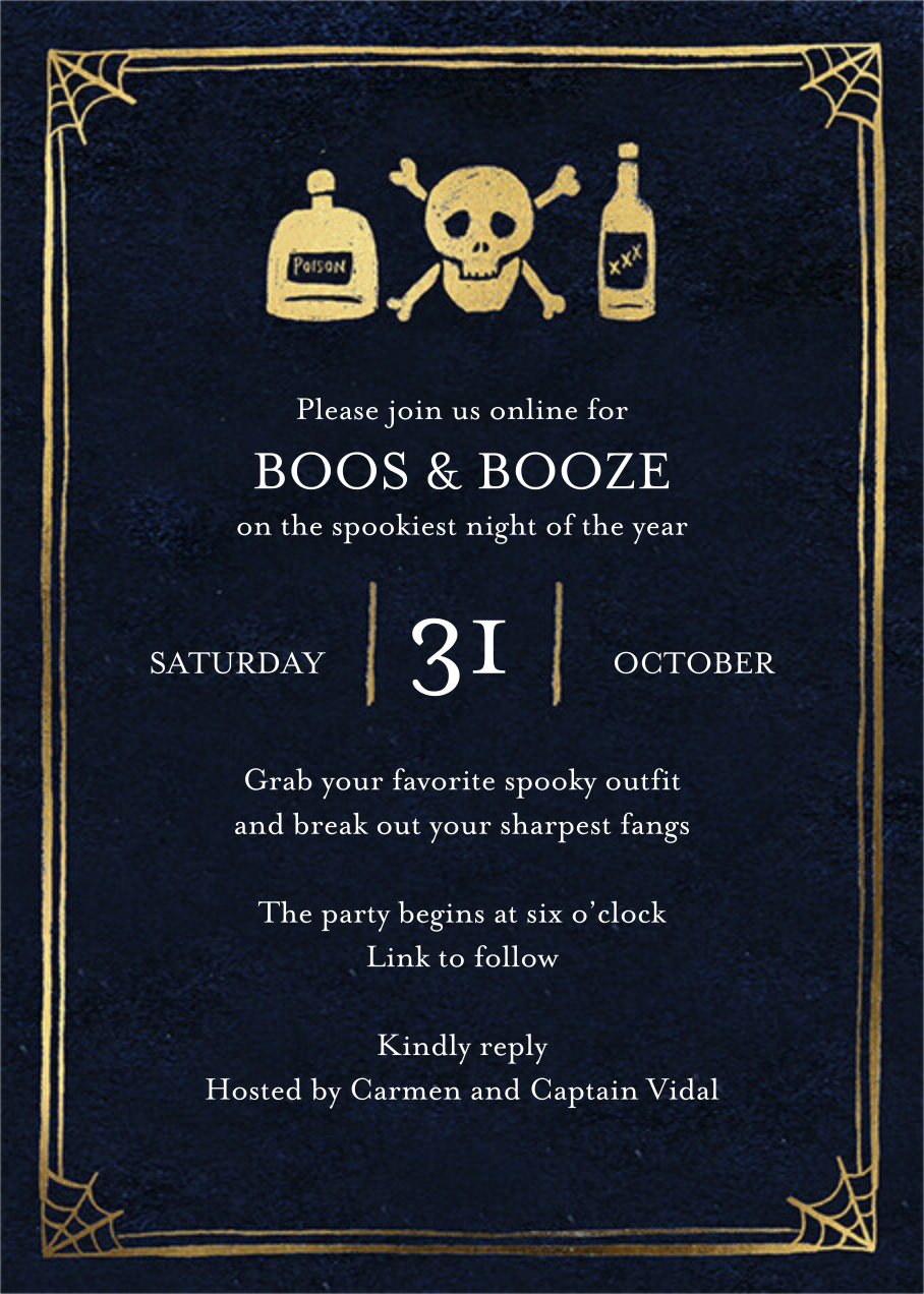 Ye Old Party - Black - Paper Source - Halloween