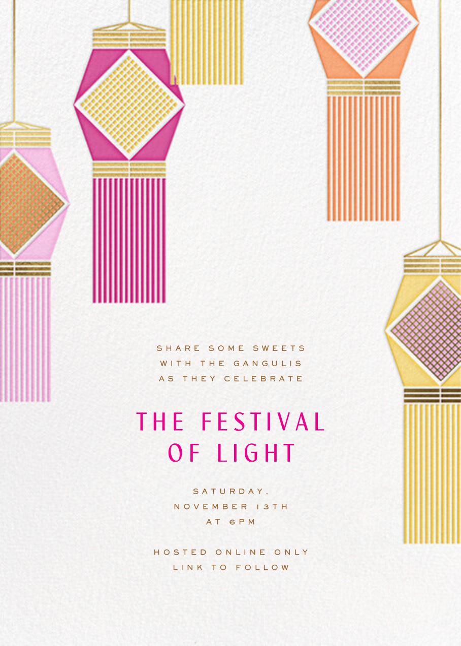 Diwali Lanterns - Paperless Post