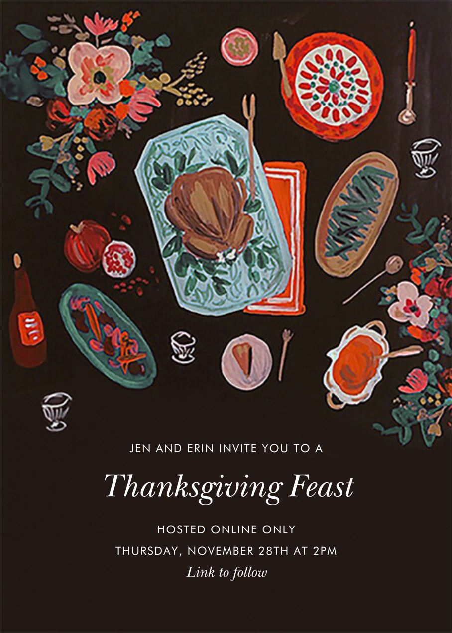 Thanksgiving Feast - Rifle Paper Co. - Thanksgiving