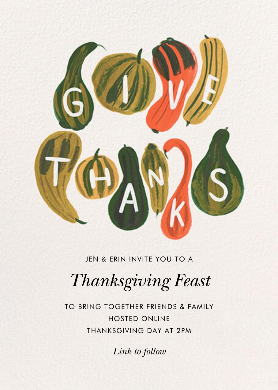 Thankful Cornucopia - Rifle Paper Co. - Thanksgiving