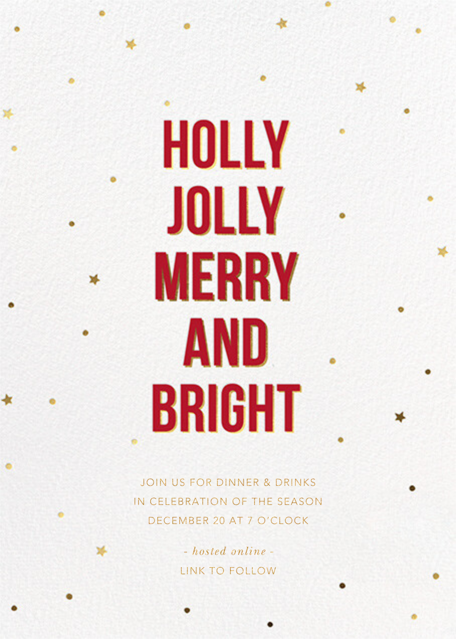Holly Night - Sugar Paper - Christmas party