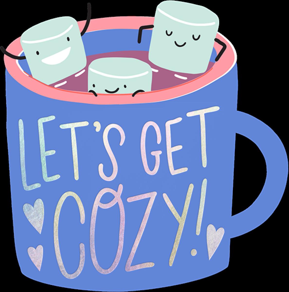 Marshmallow Mug - Hello!Lucky - Winter entertaining