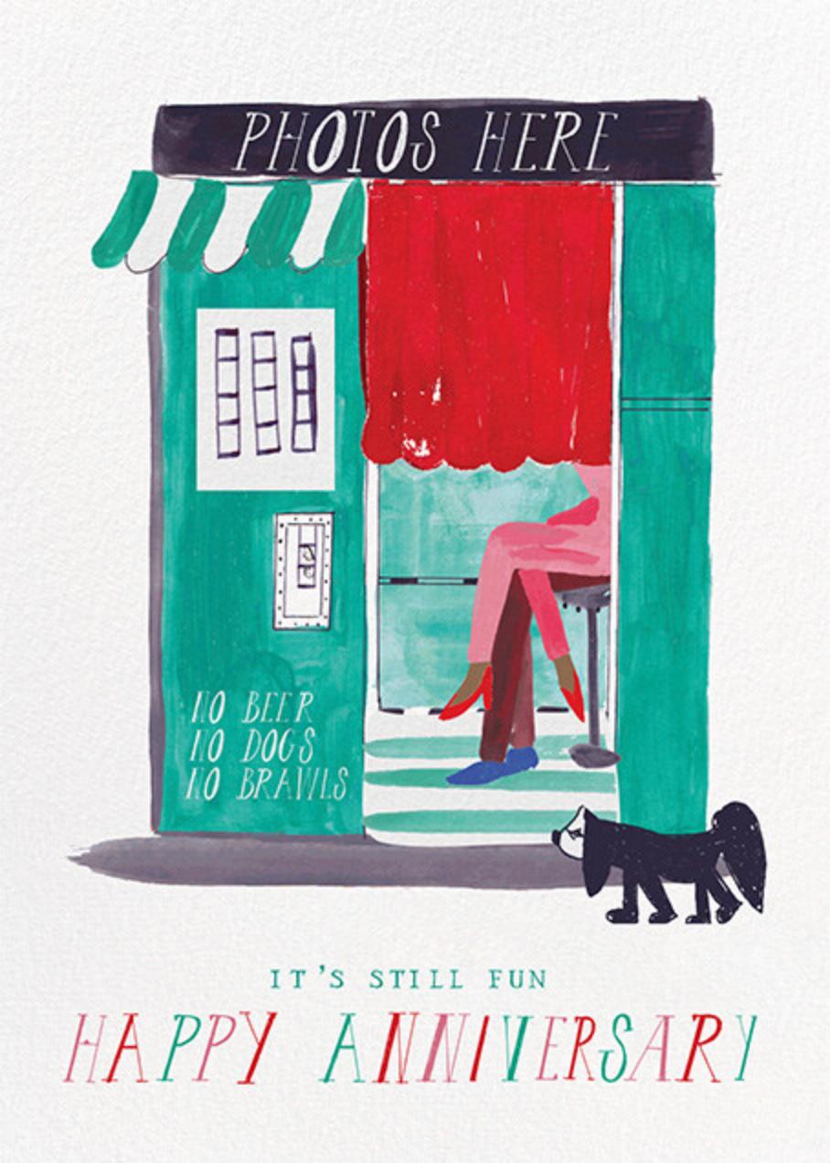 Five Seconds - Tan - Mr. Boddington's Studio - Anniversary cards