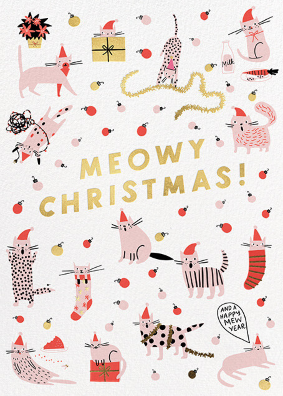 Meowy and Bright - Hello!Lucky - Christmas