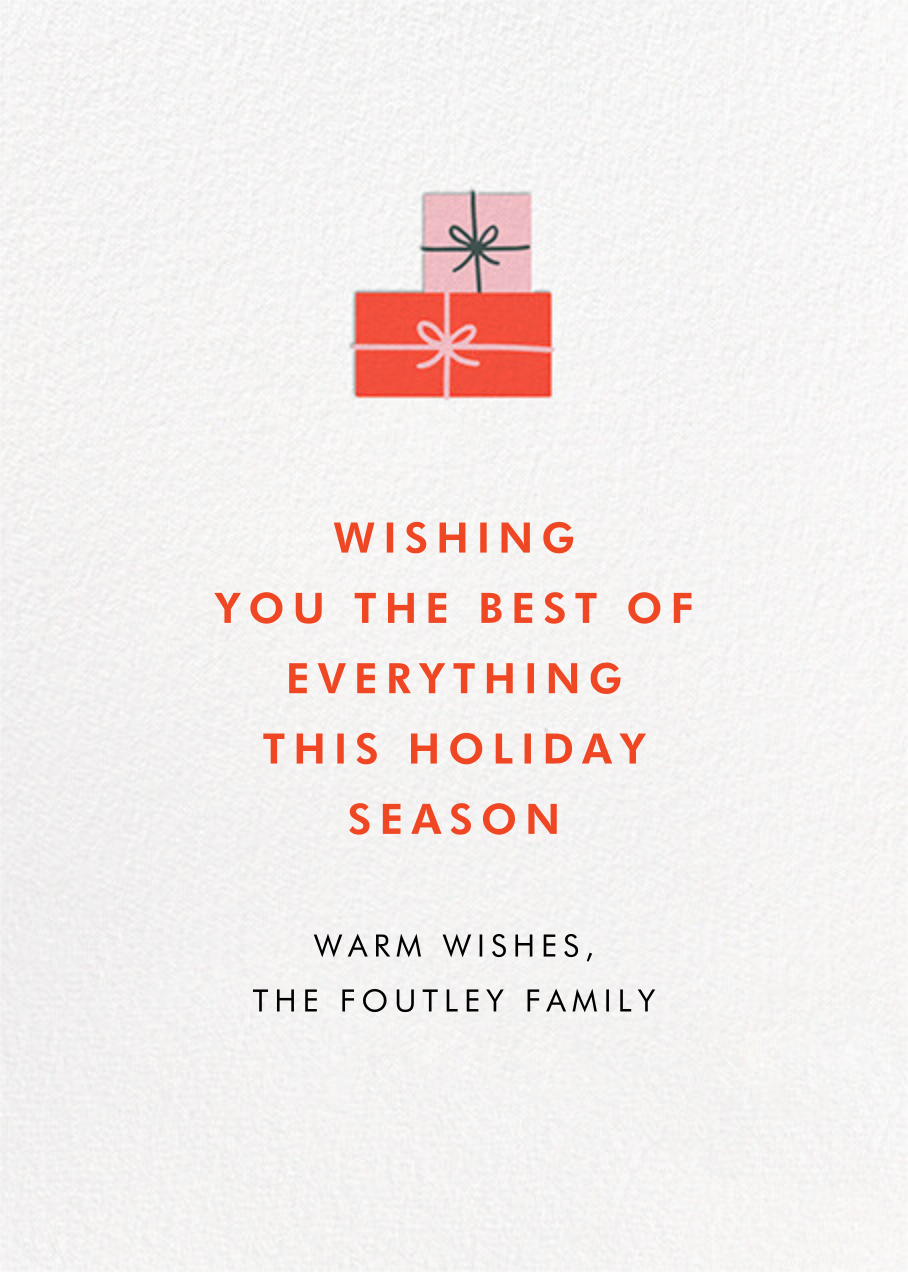 Llots of Llove - Hello!Lucky - Christmas - card back