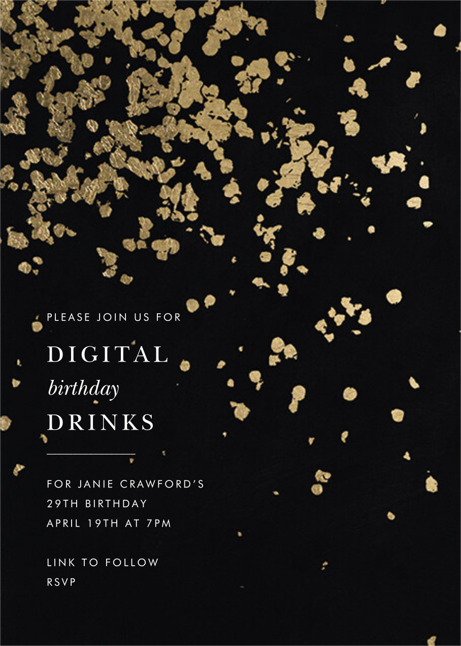 Neve - Black - Kelly Wearstler - Adult birthday