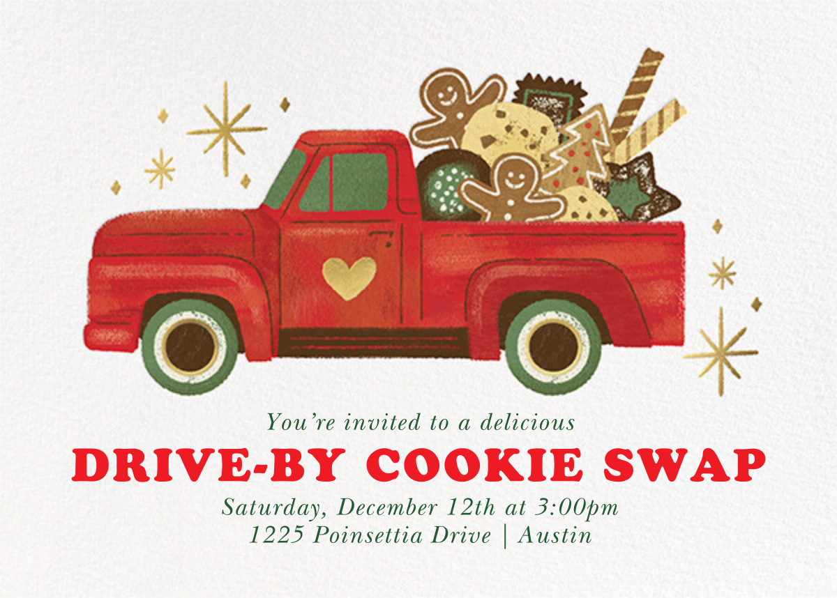 Tasty Truck - Paperless Post - Holiday party